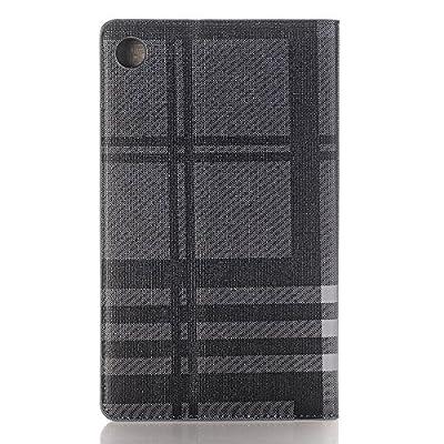 TechCode Luxus Buch Style Folio PU-Leder Smart Feature Slim Fit Ultra Thin leichter Schutzstand Fall Abdeckung mit ID-Halter & Kartensteckplätze von TechCode - Du und dein Garten