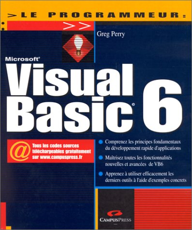 Visual Basic 6 par Greg Perry