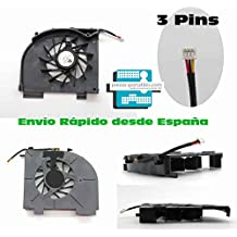 Fan Ventilador Nuevo Compatible para HP - Compaq HP Pavilion dv5-1160es 3 Pins