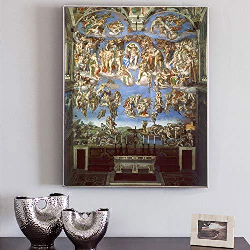 RTCKF Famosi Poster e Dipinti murali Dipinti su Tela su Soggiorno Accessori per la Decorazione della casa (Senza Cornice) A1 30x40cm