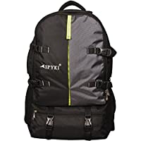 SPYKI Black & Grey 60 Ltr Trekking/Rucksack/Hiking/Travel Backpack