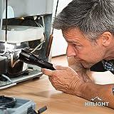 HIILIGHT LED Taschenlampe 2000 - Extrem Hell mit Zoom Funktion - Ideal für den Indoor und Outdoor Einsatz, Schwarz für HIILIGHT LED Taschenlampe 2000 - Extrem Hell mit Zoom Funktion - Ideal für den Indoor und Outdoor Einsatz, Schwarz