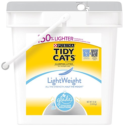 tidy-cats-cat-litter-clumping-glade-tough-odor-solutions-lightweight-12-pound-pail-by-purina-tidy-ca