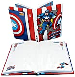 Captain America–Agenda Tagebuch Standard 18x 13–Schule 2018–2019–undatiert