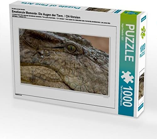 CALVENDO Puzzle Emotionale MoHommes te: Die Augen der Tiere. / / / CH-Version 1000 Teile Lege-Grösse 64 x 48 cm Foto-Puzzle Bild Von Gerlach GDT Ingo | Un Design Moderne  977f10