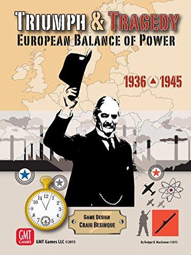 Triumph & Tragedy European Balance of Power 1936-45 - Board Game - Brettspiel - Englisch - English