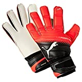 Puma Torwarthandschuhe evoPOWER Grip 2.3 RC, Black/Red Blast White, 8.5, 041222 20