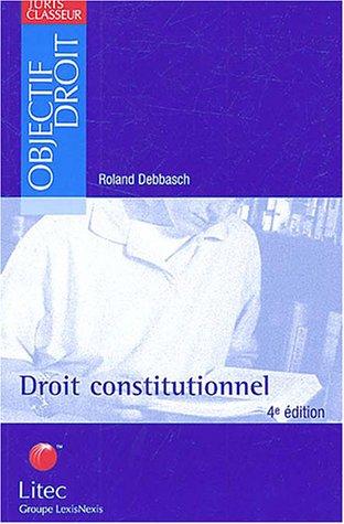 Droit constitutionnel (ancienne édition)