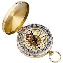 Thermometer für Orientierung 2-in-1 Im Freien Auto Kompass Navigation
