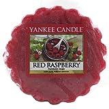 Yankee Candle 1323192E - 22 g Franbuesa roja Tarta de mantequilla de Cera aromatica, cera, Color Rojo, 5.8x5.5x2 cm