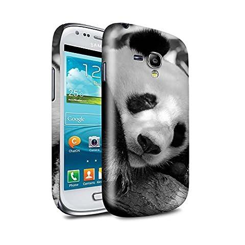 Clipser Brillant Coque de Stuff4 / Coque pour Samsung Galaxy S3 Mini / Panda Design / Animaux de zoo Collection
