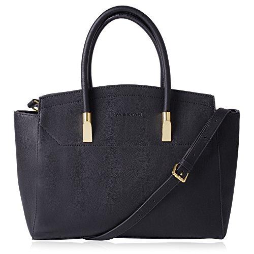 Eva & Evan Damen Schultertasche Handtasche Umhängetasche für Frauen aus PU-Leder, schönes und elegantes Design 39 x 12.5 x 28cm (Trendige Shop Handtasche)
