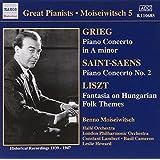 Grieg; Saint-Saëns-Piano Concertos