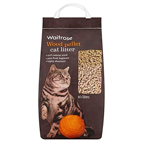 litire-bois-pellet-waitrose-10l