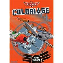 Planes - Coloriage avec stickers