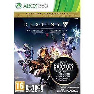 Destiny : le roi des corrompus edition légendaire jeu xbox 360