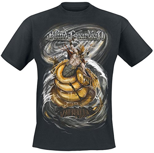 Blind Guardian Valhalla T-Shirt nero XXL
