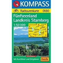 Kompass Karten, Fünfseenland Landkreis Starnberg