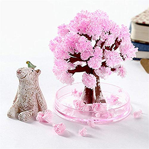 Gaddrt Paper Tree Magic Sakura Blossom Artificiale bocciolo con 1 Sacca Fluido Crescita Creative DIY Home Decor