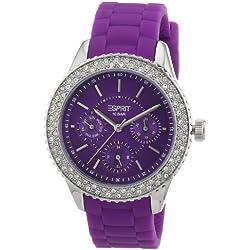 Esprit Women's Quartz Watch marin glints ES106222005 with Plastic Strap