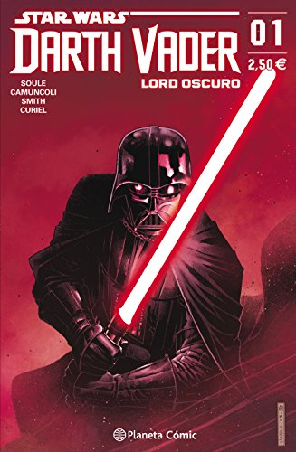 Star Wars Darth Vader Lord Oscuro nº 01 (Star Wars: Cómics Grapa Marvel) por Charles Soule