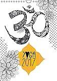 Yoga Kalender 2017 (Wandkalender 2017 DIN A4 hoch): Liebevoll illustrierter Yoga-Kalender mit schönen Zitaten, der dazu einlädt, jeden Tag kreativ. (Monatskalender, 14 Seiten) (CALVENDO Kunst)