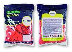 Globest- Globos de látex decoración, Color naranja (Festival 50261)