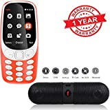 MacBerry Multimedia Dual Sim Mobile Phone Along With Bluetooth Speaker For All Smartphones