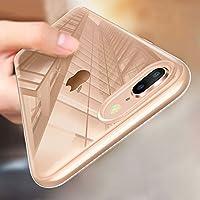 iPhone 8 Plus Handyhülle, iPhone 7 Plus Silikon Hülle, innislink Schutzhülle TPU Bumper Case iPhone 8 Plus Hüllen Ultra Dünn Kratzfest Stoßfesten Schlank Soft iPhone 7 Plus Case Cover - Transparent
