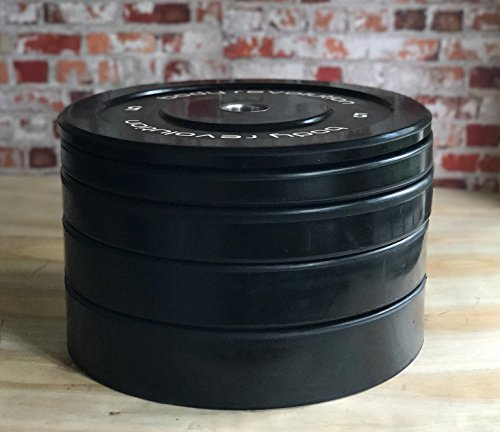 Body-Revolution-Rubber-Bumper-Plates-Weight-Lifting-Olympic-2-Discs-for-Barbells-Crossfit-5kg-25kg-5kg-single