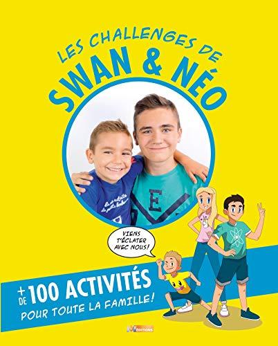 Les challenges de Swan et Néo: Mon livre d'activités par Collectif