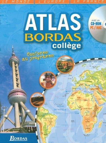 ATLAS BORDAS COLLEGE + CD    (Ancienne Edition)