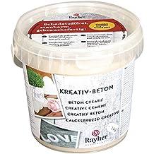 RAYHER HOBBY 34152000 Kreativ-Beton, Eimer 1 kg