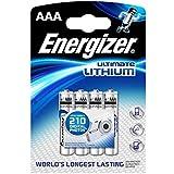 ENERGIZER - Piles Lithium L92 AAA, 1,5 Volt,1260mAh - Pack de 4