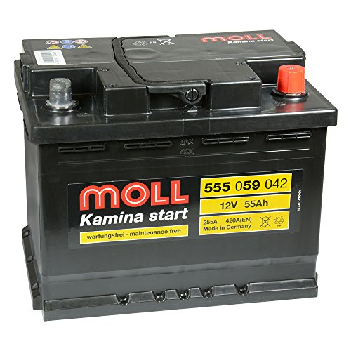 Moll Kamina Start 555 059 042 12V 55Ah 420a Batterie