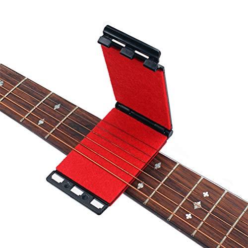 Artibetter Detergente per corde e detergente per chitarre elettriche e acustiche (rosso)