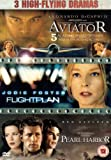 Pearl Harbor/Flight Plan/The Aviator [DVD] by Kate Beckinsale