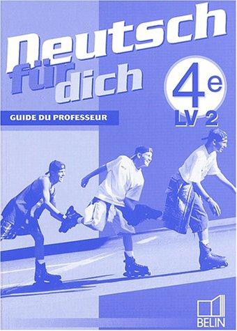 Deutsch für dich 4e - livre du professeur