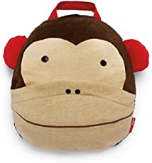 Skip Hop Zoo Travel Blanket - Monkey (Brown)