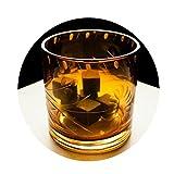 Cubitos De Hielo De Granito Cubitos De Hielo Amargo Whisky Reutilizables Enfriador De Bebidas De Cerveza Material Verde Natural 16 Granos Blanco