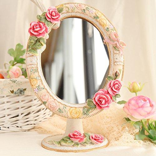 Miroir Miroir de maquillage portable, miroir de maquillage portable, miroir de maquillage miroir suspendu