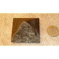 QUARTZ Schungit Pyramide mit Quarzbahnen,unpoliert,5x5cm,sehr selten, aus Karelien,lmit Zertifikat der Mine! preisvergleich bei billige-tabletten.eu