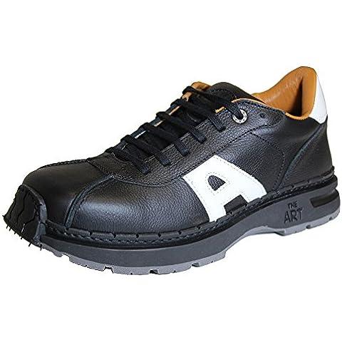 The Art Company - Zapatos de cordones de Piel para hombre Negro regaliz black