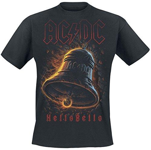 (AC/DC Hells Bells T-Shirt Schwarz 5XL)