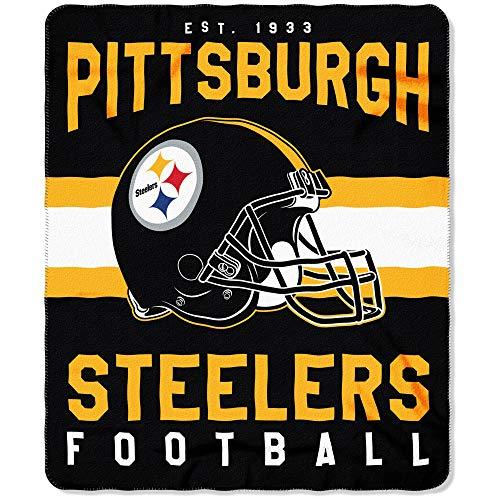 Pittsburgh Steelers Offizielle NFL Decke, Fleecedecke in 127 x 152 cm
