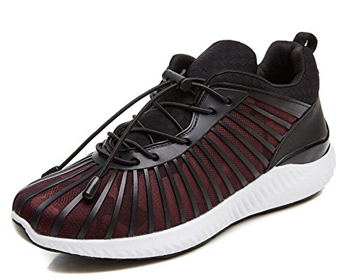 SHIXR Herren Spring Sports Schuhe Casual Schuhe Outdoor Breathable Youth Schuhe Laufschuhe Basketball Schuhe rote