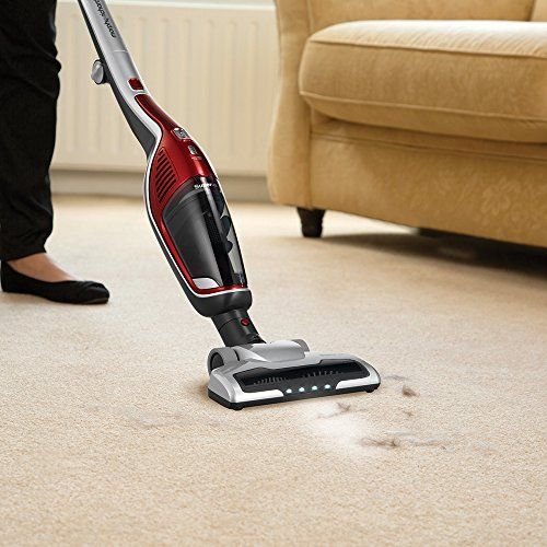 Morphy Richards Supervac 2-in-1 Cordless Vacuum Cleaner 21.6v 732102 Red Vacuum Cleaner Cordless