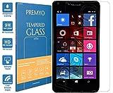 PREMYO Verre Trempé pour Microsoft Lumia 640 Film Protection Écran pour Lumia 640 Vitre Protecteur Compatible avec Lumia 640 Dureté 9H Bords 2,5D Anti-Rayures sans Bulles Résistant