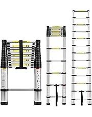 EQUAL Telescoping Ladder Aluminum Telescopic Extension Multi Purpose Ladder