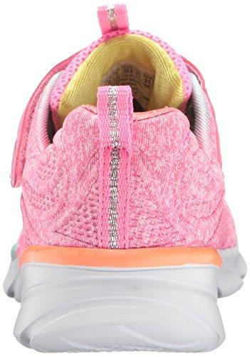 Skechers Swirly, Running Fille Multicolore (Pink/multicolour)